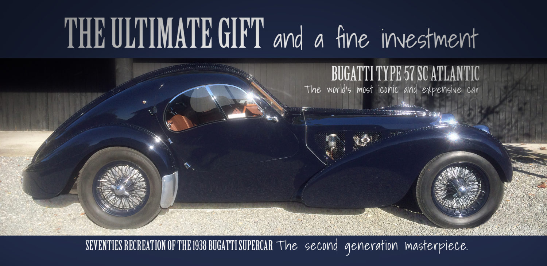 Bugatti Type 57 Sc Atlantic Pe Classic Car Collections